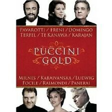 PAVAROTTI/DOMINGO/FRENI/TERFEL - PUCCINI GOLD DVD NEU