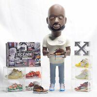 Hypebeast Gift Off-White Fashion Designer Virgil Abloh Action Figure USA Seller