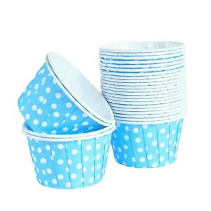 Pleated Baking Cups Cupcake Muffin Cases Polkadot Striped Metallic MEGA LISTING!