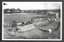 Maurits Stadium rppc Fortuna '54 Limburg Netherlands 1956 stamp