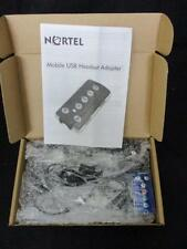 NORTEL NTEX14MBE6 MOBILE USB HEADSET ADAPTOR w/ GN NETCOM MONOAURAL HEADSET -NEW