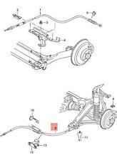 Genuine AUDI A4 S4 Avant Quattro Brake Cable 8D0609721R