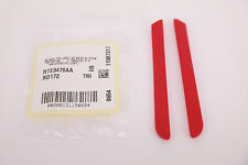 NEW AUTHENTIC Oakley RED Earsocks fits HYPERLINK OX8078 Replacement Part GENUINE