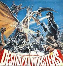 Godzilla Destroy All Monsters [Dvd] Manufactured On Demand Region 1 Ships Fast!