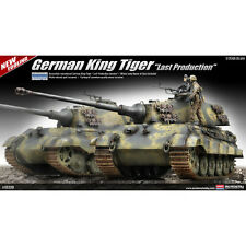 """ACADEMY MPN 13229 GERMAN KING TIGER """"LAST PRODUCTION""""  1/35 SCALE"""