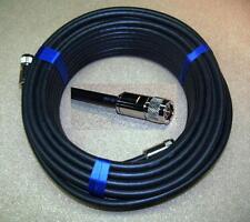 15 M AIRCOM premium Câble Coaxial 50 ohms confectionnées avec 2 x uhf (pl) - Connecteur