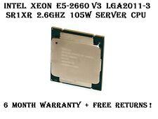 Intel Xeon E5-2660 V3 SR1XR LGA2011-3 2.6GHz 10-Core 25MB 105W 9.6GTs Server CPU