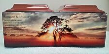 612 Double/companion adult cremation urn sunset tree