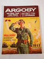 Vintage November 1959 Argosy fiction fact mens magazine