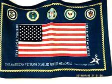 """The American Veterans Disabled For Life Memorial� Fleece Throw Blanket 34�x 48�"
