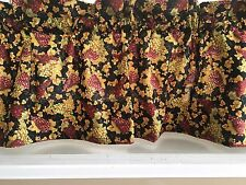 NEW Wine Grapes Winery Valance Curtain Kitchen Bedroom Bar