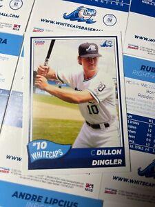 2021 WEST MICHIGAN WHITECAPS 32 CARD BASEBALL TEAM SET SEALED DILLON DINGLER RC