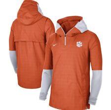 Men's Clemson Tigers Nike College Player Quarter-Zip Hoodie Jacket 3XL NWT  $100