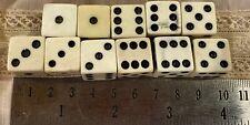 Vintage Lucite or Bakelite Casino Gaming Dice