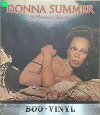 Donna Summer I Remember Yesterday LP Album Vinyl Record GTLP 025 Pop 70's Disco