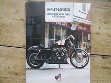 HARLEY DAVIDSON 2013 GENUINE MOTOR PARTS AND ACCESSORIES