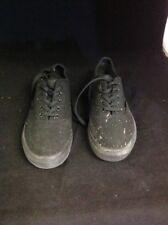 Fila CLASSIC CANVAS Mens Black Casual Sneaker Shoes Size 8 Es Ws24