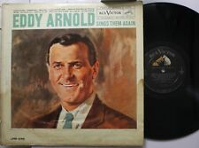 Country Lp Eddy Arnold Sings Them Again On Rca