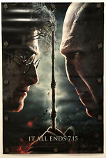 HARRY POTTER AND THE DEATHLY HALLOWS PART 2 Original DS/Rolled Movie Poster 2011
