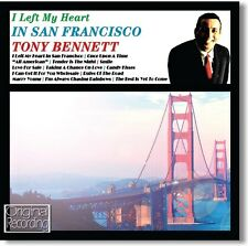 CD TONY BENNETT I LEFT MY HEART IN SAN FRANCISCO SMILE LOVE FOR SALE MARRY YOUNG