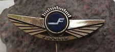 Finnair Pilot Wings Finland Finnish Airline Logo Aircraft Pin Badge