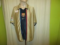 "FC Barcelona Original Nike Auswärts Trikot 2001-2003 ""ohne Hauptsponsor"" Gr.XL"