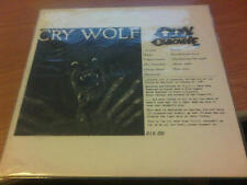 LP ULTRA RARE OZZY OSBOURNE CRY WOLF LIVE LAUSANNE DIY 001 NM/NM UNOFFICIAL1983