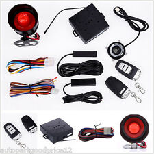 Auto Car Alarm System PKE Passive Keyless Entry Engine Start Push Button Remote