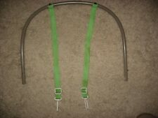 Fisher Price Rainforest Cradle Swing Repl Chair Seat Back Tube Shoulder Harness