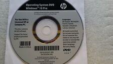 HP System Recovery DVD - Finnish-Danish-Swedish - Windows 10 - 64-bit
