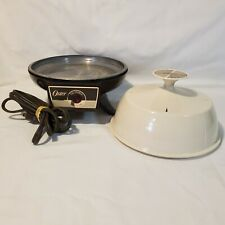 Vintage Oster Automatic Egg Cooker Poacher 581 Electric Solid Lid MISSING TRAYS