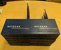 LOT 12x Netgear ProSafe WGL102 802.11g Light Wireless Access Point NO AC ADAPTER