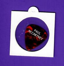Beatles Paul McCartney Guitar Pick Lollapalooza 31/07/15
