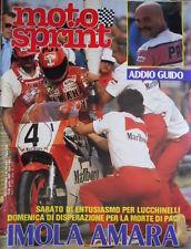 Motosprint 15 1983 Gara entusiasmante per Lucchinelli. La morte di Paci [Q77]