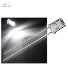 10 LED 5mm concave blanc chaud - concave LEDs avec accessoires