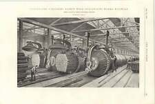 1898 Haskins Wood Vulcanising Works Millwall Warships Chinese Waters