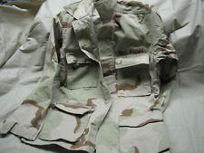 medium X short US desert camo rip stop NEW jacket top