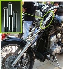 Foderi Copri steli cromati forcella  Ø 39 mm - lungh.176.5 mm moto custom Harley