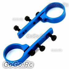 450 Metal Tail Servo Mount For Trex T-Rex Helicopter - Blue (L450071)