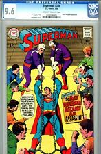 Superman #206 CGC GRADED 9.6 - second highest graded - Neal Adams cover