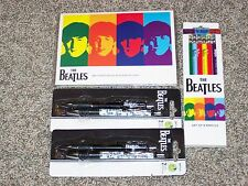 THE BEATLES PEN PENCIL AND STICKY NOTE SET