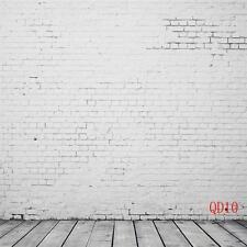 10X10FT Fade Brick Wall Vinyl Photography Backdrop Photo Studio Background QD10