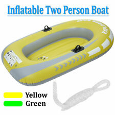"""2-Person 62"""" Inflatable Rowing Air Boat Fishing Tender Rafting Water Sports"""