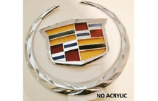 NEW!! Cadillac CTS V 2014 2015 Grille WREATH & CREST Emblem!!