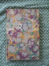 Herman Melville Journal up the Straits 1935 Marbled cloth