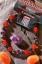 'VIRGO' Gemstone 'Power Bracelet' plus a free guide book & bookmark.