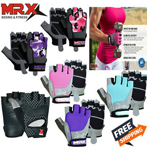 Women Men Half Finger Gym Gloves Workout Sports Weight Lifting Exercise Fitness
