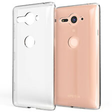 Sony Xperia XZ2 Compact Case by NALIA, Transparent Back Cover Thin Protective