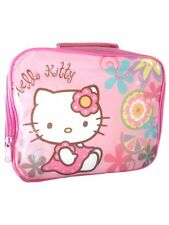 Bamboo Insulated Hello Kitty Lunch Bag With Hand Carry Handle For Kids 3+