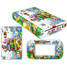 Super Mario 3D World Cover Skin Sticker for Nintendo Wii U Console & Controller